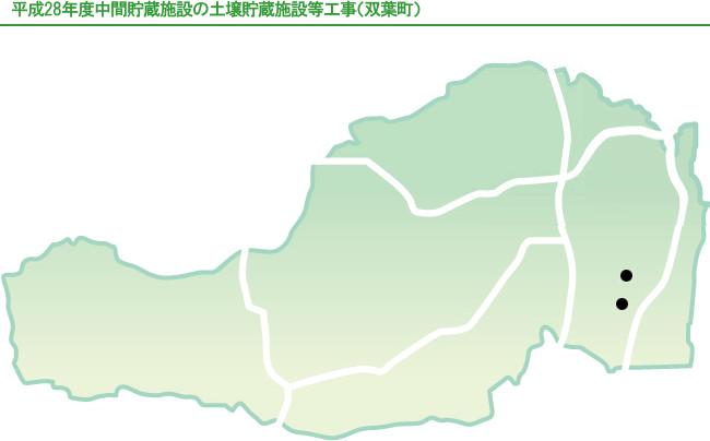 双葉町地図