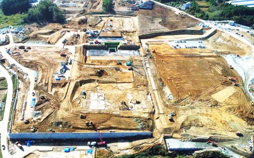 減容化施設工事:細谷